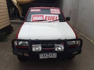 HOLDEN RODEO DUAL TWIN CAB TF 2001 LT 4X4. DUAL FUEL V6 RECO HEAD Sunshine Brimbank Area Preview