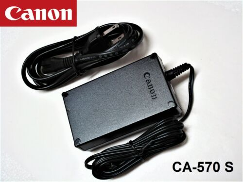 New Genuine Original Canon Compact Power AC Adapter Charger CA-570 S CA-570S