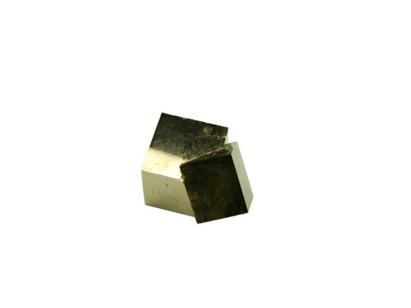 Navajun Spain Mine - Pyrite Cube Crystal With Display Case-#PC18
