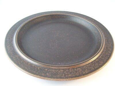 Vintage Arabia Finland Ruska Ulla Procope Pottery Dinner Plate Retired ~ D