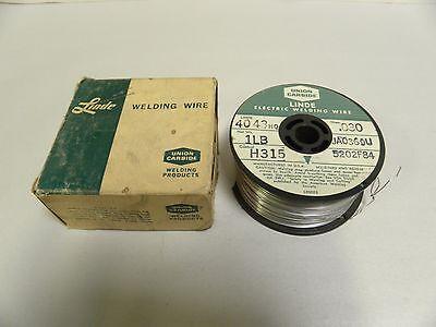 1 Lb Pound .030 Dia. Union Carbide Linde 4043hq Welding Wire Roll A5