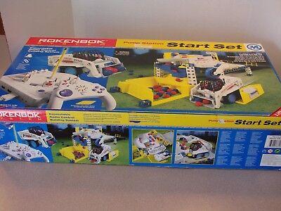 Rokenbok System Pump Station Start Piston Plant Set Building Toy w/Box 33105