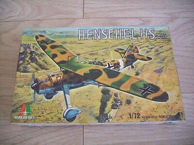 Italaerei 1:72 Henschel HS 126 - Complete Vintage Kit No 109