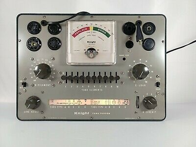 Knight Tube Tester Excellent Cosmetic Condition