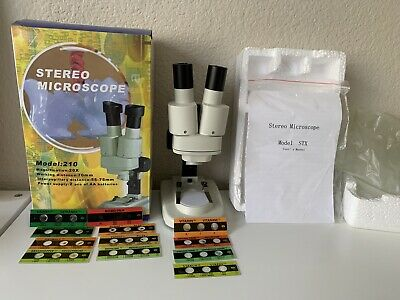 Fun And Educational Amscope Portable Stereo Kids Microscope.