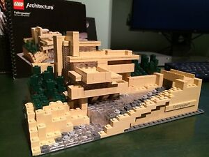 Lego Fallingwater 21005 Architecture Series