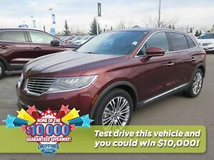 2016 Lincoln MKX Reserve AWD 3.7l v6 with adaptive cruise