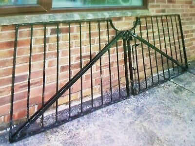 8 Foot Wrought Iron Drive Gates