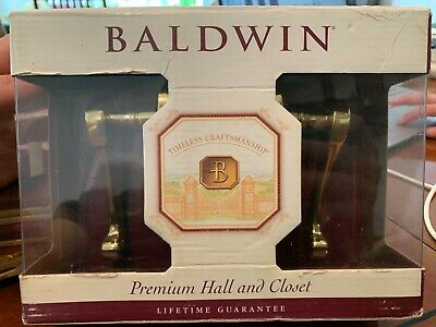 Baldwin Polished Brass Classic Lever 95445.030.PASS
