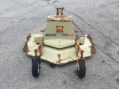 Nice Woods Rm48 3 Point Hitch 4 Ft Finish Mower With Pto Shaft