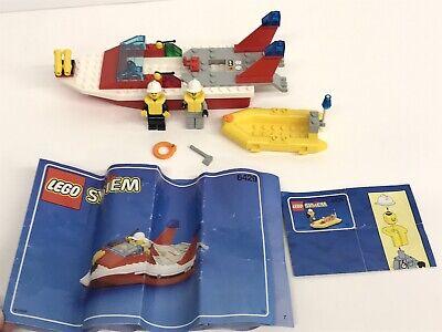 LEGO #6429 Town Fire Boat BLAZE RESPONDER, 100% Complete w/Manual, 1999 Vintage