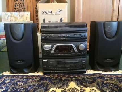 Philips AS 765C High Power Stereo MIDI System