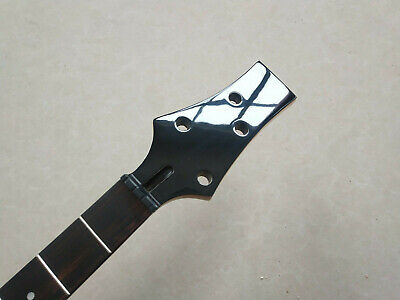 Best 24 Fret 4-String Rosewood Maple Electric Bass Neck Replacement