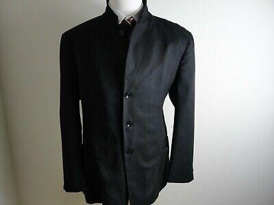 Armani  Collezioni Men's 2 Style 4 Button Black Jacket Blazer Sport Coat Sz 46