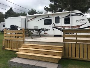 Trailer Rental at Pine Hills RV Park in Brackley ,PEI