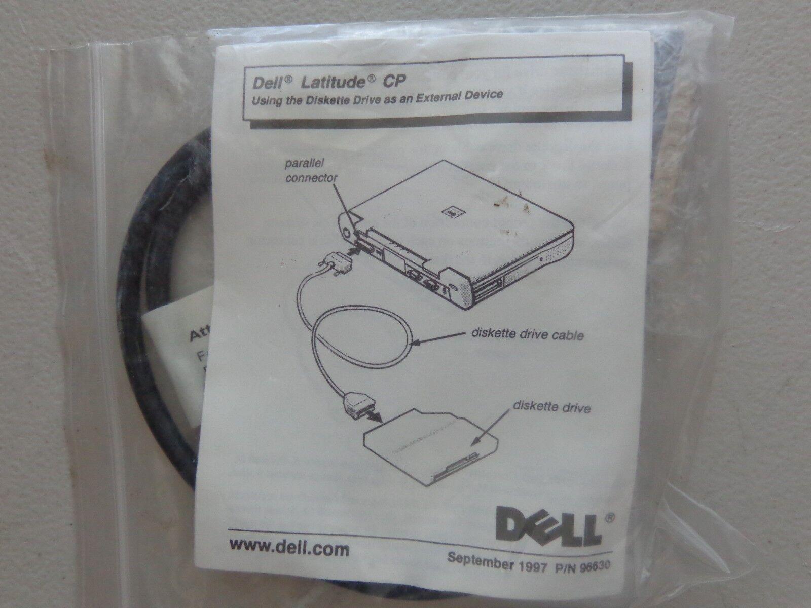 как выглядит Дисковод для гибкого магнитного диска (дискеты) Dell Latitude 045647 FDD Cable фото