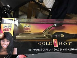 Curling iron - brand new