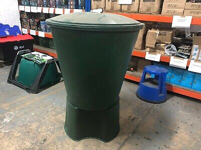 ICS Green 210L Round Water Butt with Stand - New but Listed Cheap to SELL!