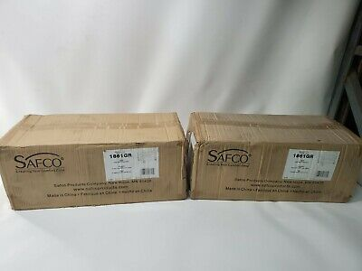Lot Of 2 New Safco Under Desk Printer Stand - Gray - 1861gr