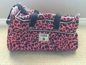 PINK by VS Rolling Duffle Bag