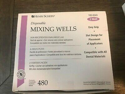Henry Schein Disposable Mixing Wells