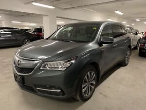 2016 Acura MDX Technology Package Rear Entertainment/Navi