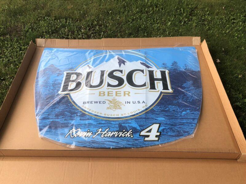 Busch Beer Nascar Racing Kevin Harvick #4 Giant Racing Hood Game Room Man Cave