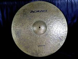 """Agean 20"""" Ride Cymbal - Natural Series, hand crafted Caringbah Sutherland Area Preview"""
