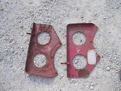 Farmall A Tractor Original Ih Ihc Main Seat Mounting Brace Brackets Serial Tag