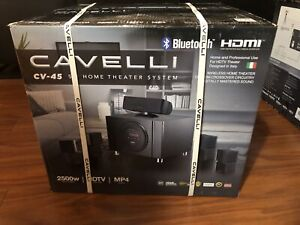 CAVELLLI  5.1 HOME THEATER SYSTEM