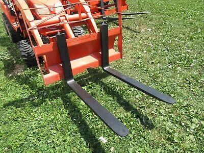 Kubota Pallet Forks 36 Frame Bx6314 Fits Most Older Bx Loaders