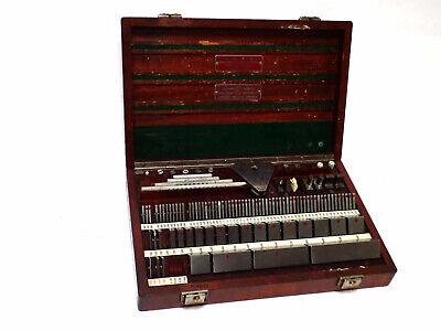 Pratt Whitney Hoke Precision Gage Block Set Ty C.p. Style 84-e 110pcs Case