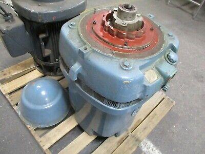 Us Motors Vertical Mount Hollow Shaft Reversing Ac Motor 60hp 1800rpm Used
