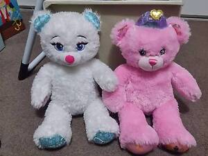 Build A Bears x 2 + accessories AS NEW CONDITION Harrison Gungahlin Area Preview