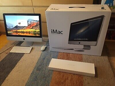 "Boxed Apple iMac 21.5"" Mid 2011 2.5 GHz i5 8Gb Ram 500Gb HDD AMD Radeon"