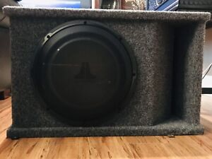 JL Audio 12 inch Subwoofer  with Box