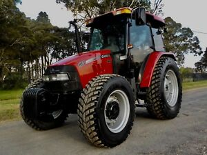 Late Model 2014 Case JXU105 4x4 Agricultural Farm Tractor 106hp Austral Liverpool Area Preview
