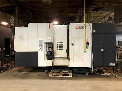 2005 Mazak Hcn 6000 Ii Cnc Horizontal Machining Center Mazatrol 43 Atc 10krpm