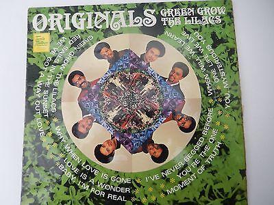 ORIGINALS - GREEN GROW THE LILACS,  UK,  Tamla Motown,  Album   '69