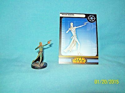 WotC Star Wars Miniatures Muun Guard, RotS 34/60, Separatist, Uncommon