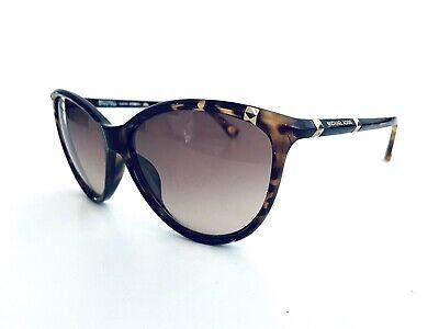 Michael Kors Tortoise Cats Eye Frame W Gold Logo Glasses Camila M2835S 60 15 130