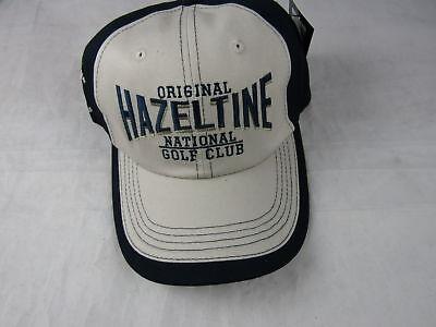 4538c257674 Gear Golf Hat Hazeltine National Golf Club Khaki Dark Blue Adjustable