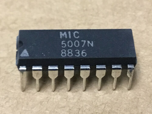 1 PC   MICREL  MIC5007N  Digital Microcircuit   NSN# 5962-01-064-7035