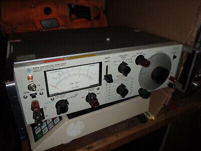 Hewlett Packard 334a Distortion Analyzer - Good For Audio Equipment Testing