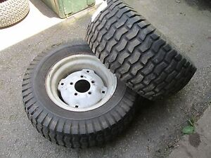 Carlisle Turf Saver Tires and Rims 23 x 10.50 x 12 - Craftsman + Others