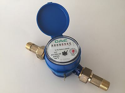Dae As130u-50 12 Water Meter Measuring In Gallon Couplings