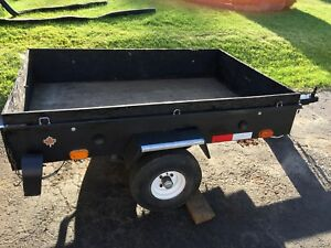 Awesome 4X6 tilting utility trailer