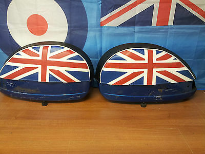 Vespa PX/T5/LML Pair of Side Panel Covers Union Jack