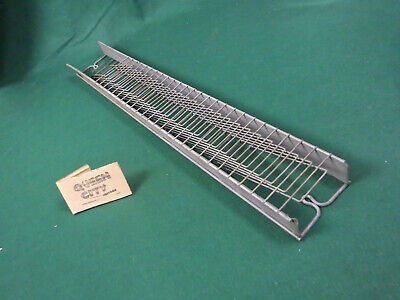Vintage 26 Slot Metal Wire Time Cardtimecard Rackholder