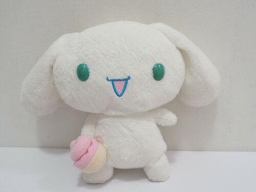 "Cinnamoroll Cinnamon Icecream Sanrio Plush 7"" Beanie Toy Doll japan"